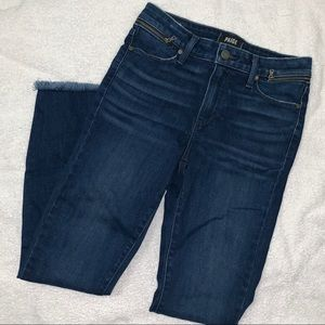 PAIGE Jeans NWOT Hoxton Ankle With waist zipper
